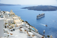 View from Santorini Royalty Free Stock Image