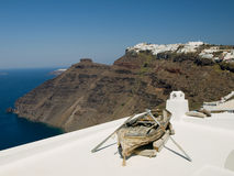 View of Santorini Caledra, Greece Stock Image