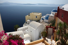 View of Santorini island Royalty Free Stock Photo