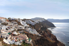View of Santorini island Royalty Free Stock Photography