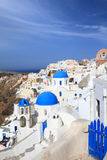 View of Santorini island Royalty Free Stock Images