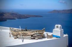 View of the Santorini island, Greece Royalty Free Stock Photo