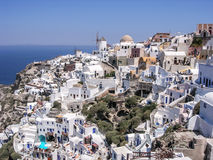 View of Santorini. Scenic view of Santorini, Greece, Greece Royalty Free Stock Image
