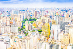 View of Sao Paulo Royalty Free Stock Images