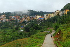 View of Sapa Royalty Free Stock Photo
