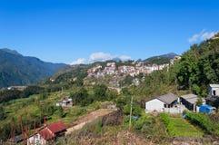 View of Sapa city. Vietnam Royalty Free Stock Photos