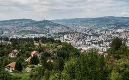 View in Sarajevo Stock Image