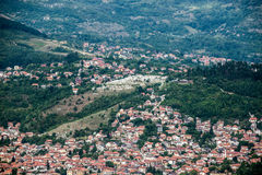 View in Sarajevo Royalty Free Stock Photos