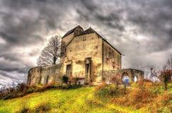 View of Sargans Castle in Switzerland Stock Images