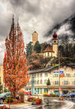 View of Sargans village in Switzerland Royalty Free Stock Photo
