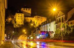 View of Schattenburg castle in Feldkirch Stock Photography
