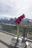 View from the Schilthorn mountain Stock Images
