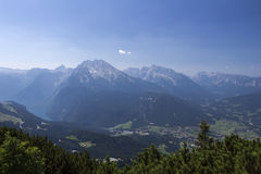 View on Schoenau am Koenigssee in Germany, 2015 Stock Images