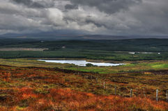 View on scottish highlands from Lairg Stock Image