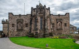 A view of Scottish National War Memorial in Edinburgh Castle Royalty Free Stock Photography