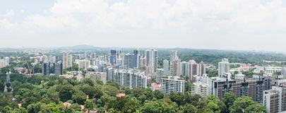 View from scotts road. Royalty Free Stock Photos