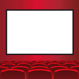 Cinema screen Royalty Free Stock Images