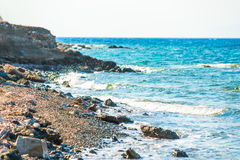 View of the sea on a afternoon Stock Image