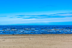 View on sea beach Royalty Free Stock Image