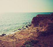 View of sea cost Royalty Free Stock Images