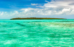 View of a sea at day time. Mauritius. Panorama Stock Photography