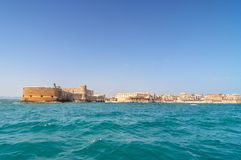 View from the sea in ortigia, siracusa, sicily Royalty Free Stock Image