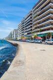 View of Sea Promenade, Thessaloniki Stock Photos