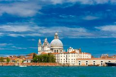 View from the sea to Venice lagoon, Italia Royalty Free Stock Photos