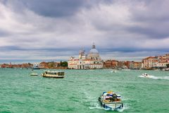 View from the sea to Venice lagoon, Italia Stock Images