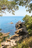 View of the sea. Royalty Free Stock Images