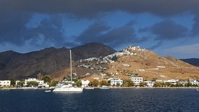 Seacoast in Chora Serifos Stock Images
