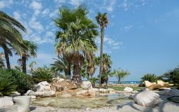 Seafront of San Benedetto del Tronto - Ascoli Piceno -Italy Royalty Free Stock Photography