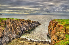 View of seashore in Portstewart Stock Photography