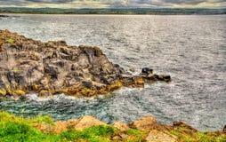 View of seashore in Portstewart Stock Photos