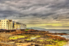 View of seashore in Portstewart Royalty Free Stock Image