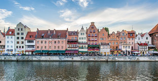 The view of seaside in Gdansk,Poland. Stock Image
