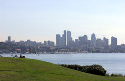 View of Seattle Royalty Free Stock Photography