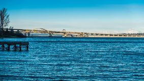 Seattle Highway Bridge 4 Stock Image