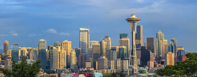 View of the Seattle city from Kerry Park, Washington Stock Photography