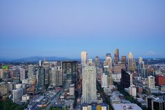 View of Seattle Stock Photo