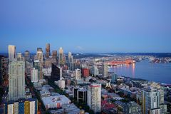 View of Seattle Royalty Free Stock Images