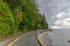 Stanley Park - Vancouver, Canada stock photography