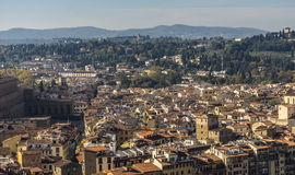 View of a section of Florence. Italy, Europe Royalty Free Stock Photos