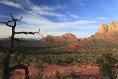 View of Sedona, AZ Stock Photo