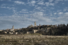 View Segovia Alcazar Royalty Free Stock Photography
