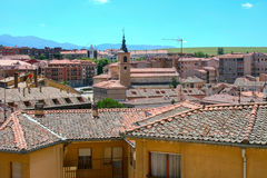 View of Segovia Royalty Free Stock Images