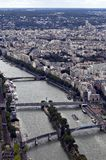 View on the Seine. France Stock Photos