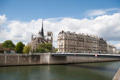 View of the Seine River Stock Photos
