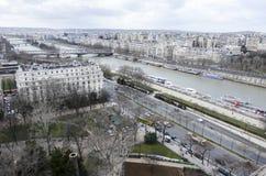 View of Seine river, Paris Stock Photo
