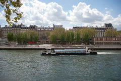 View of Seine River Stock Photography